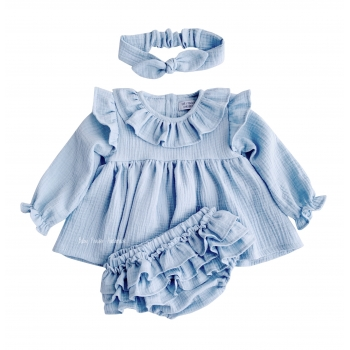 Muslin bloomers with frills on the bottom