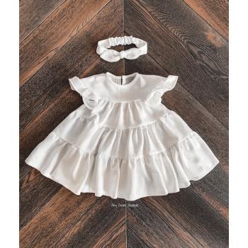 Oversized linen dress