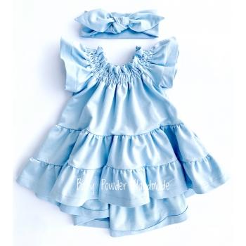 Spanish dress with beautiful flounces